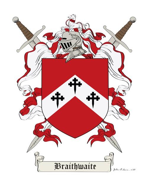 Braithwaite Coat Of Arms